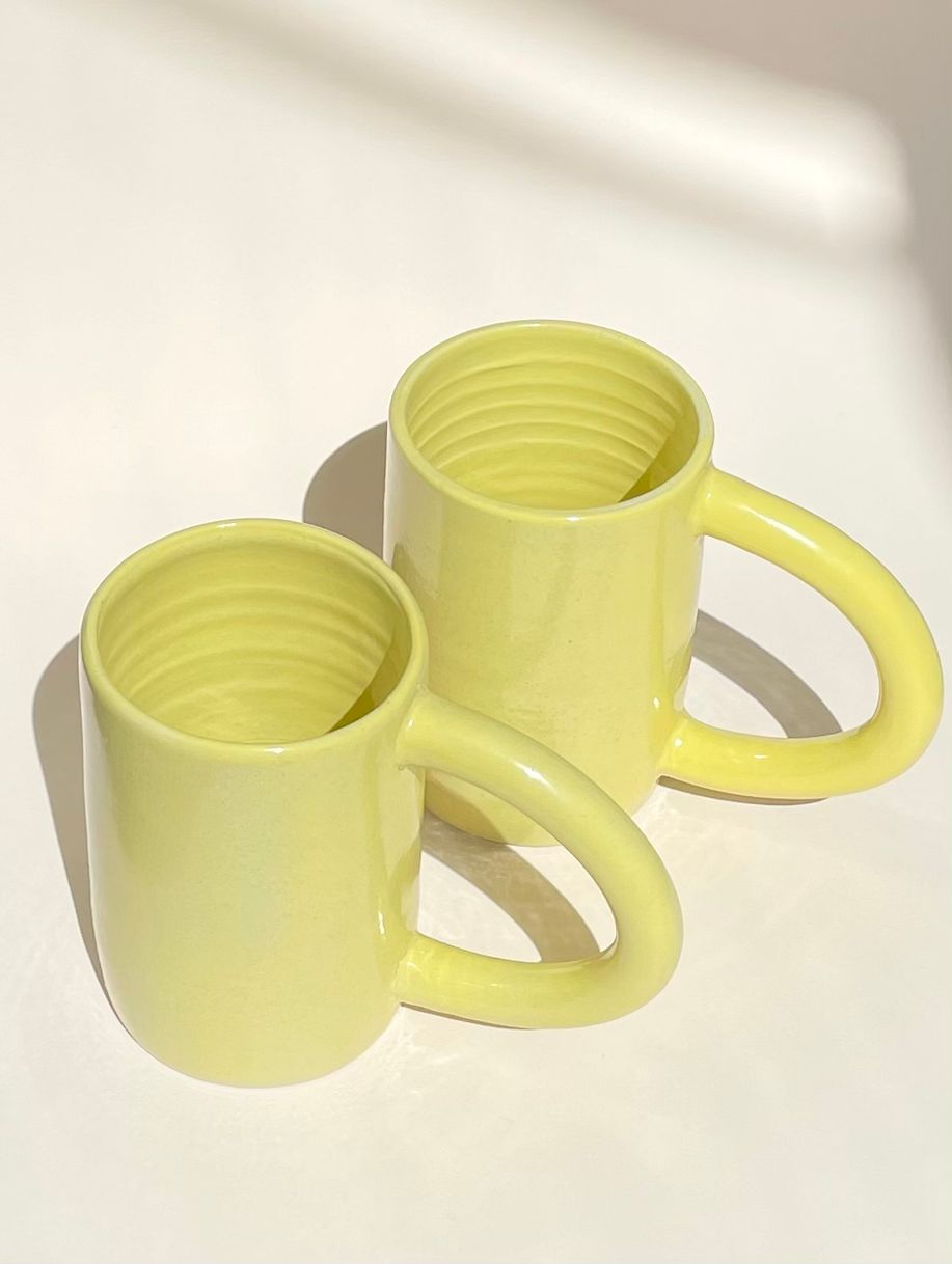 Sunny mug product photo
